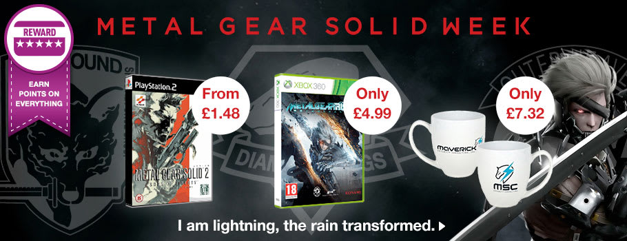 Metal Gear Week at GAME - Buy Now at GAME.co.uk!