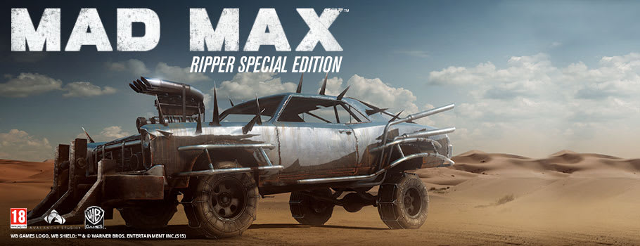 Mad Max Ripper Edition Only at GAME - Preorder Now at GAME.co.uk!
