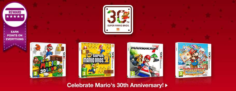 Mario 30th Anniversary - Buy now at GAME.co.uk