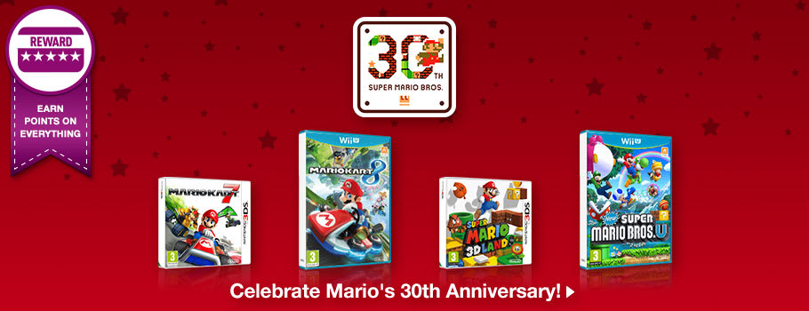 Mario 30th Anniversary - Buy Now at GAME.co.uk!