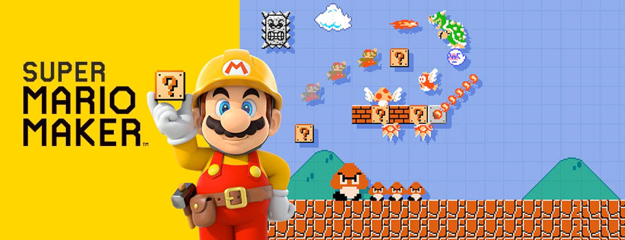 Super Mario Maker for Wii U available from Nintendo eShop - Buy Now at GAME.co.uk!