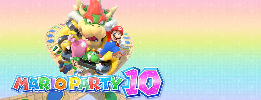Mario Party 10 with amiibo for Nintendo Wii U - Preorder Now at GAME.co.uk!