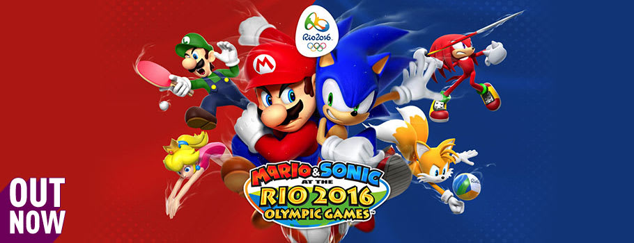 Mario and Sonic at the Rio Olympic Games 2016 for 2DS, 3DS and 3DS XL from Nintendo eShop - Pre-purchase Now at GAME.co.uk!