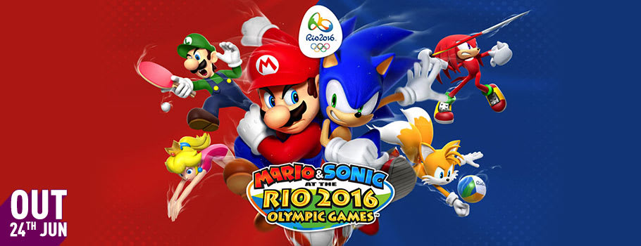 Mario and Sonic at the Rio Olympic Games 2016 for Nintendo Wii U - Pre-order Now at GAME.co.uk!