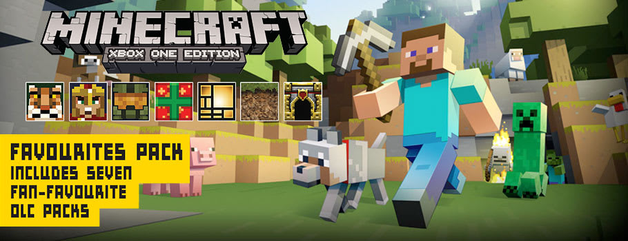 Minecraft Favourites on Xbox One- Download Now at GAME.co.uk!