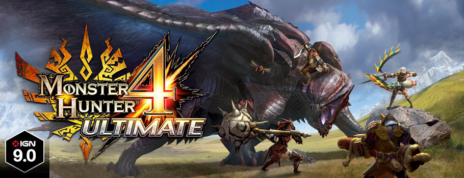 Monster Hunter 4 Ultimate for Nintendo 3DS  - Buy Now at GAME.co.uk!