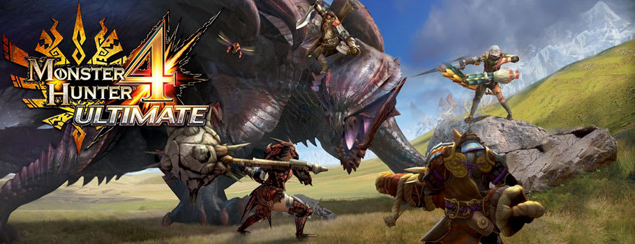 Monster Hunter 4 Ultimate for Nintendo eShop - Download Now at GAME.co.uk!