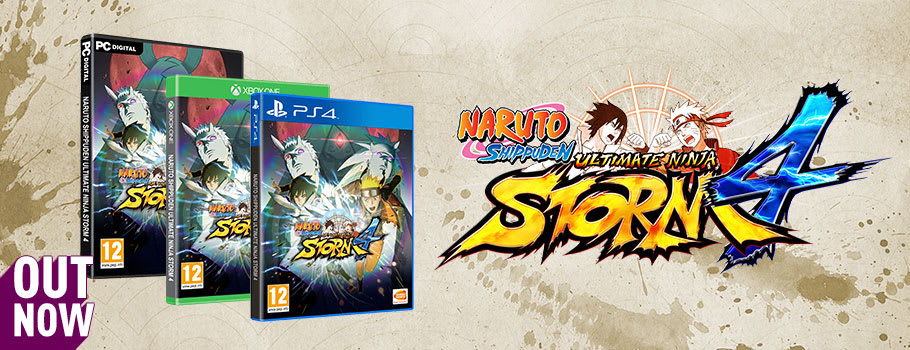 Naruto Ultimate Ninja Storm 4 for PS4 and Xbox One - Pre-order Now at GAME.co.uk