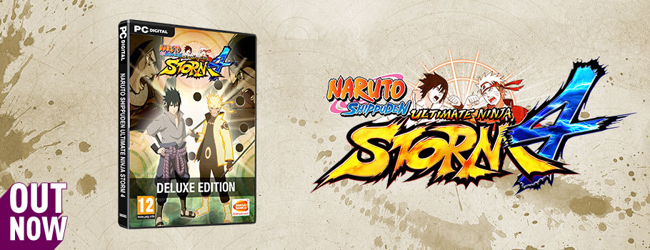 Naruto Shippuden Ultimate Ninja Storm 4 for PC Download - Buy Now at GAME.co.uk!