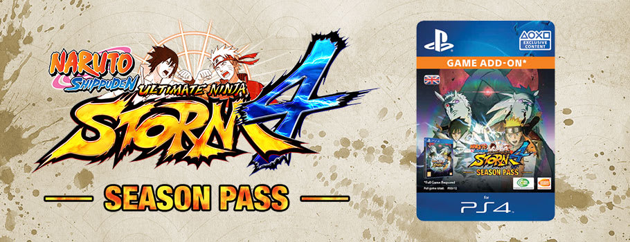 Naruto Ultimate Ninja Storm 4 Season Pass for PSN - Download now at GAME.co.uk!