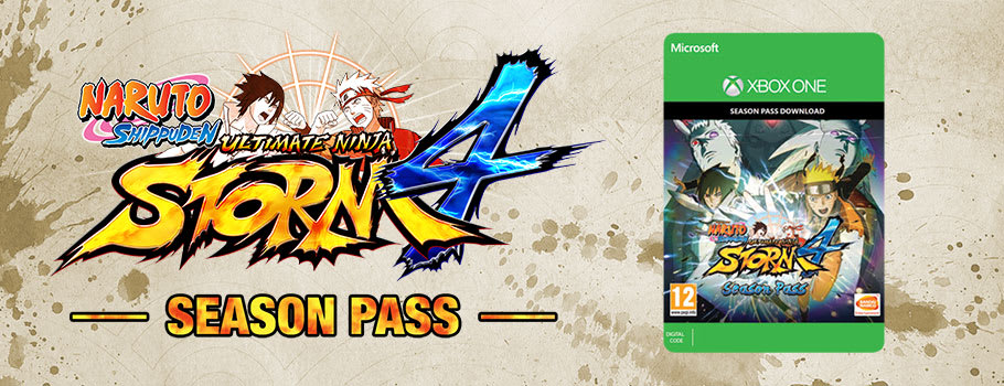 Naruto Shippuden Ultimate Ninja Storm 4 Season Pass for Xbox Live - Download Now at GAME.co.uk!