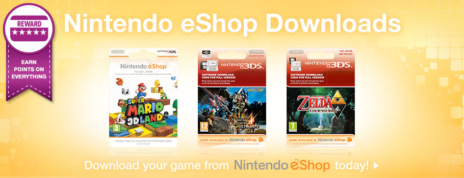 eshop games for Nintendo 3DS - xx Now at GAME.co.uk!