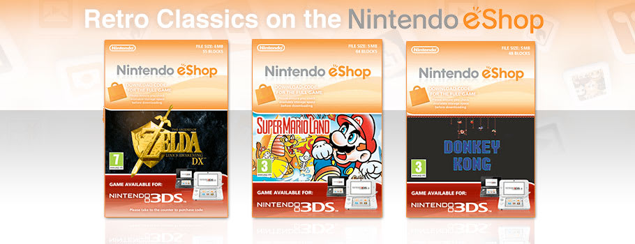 Retro Classics for Nintendo eShop - Download Now at GAME.co.uk!