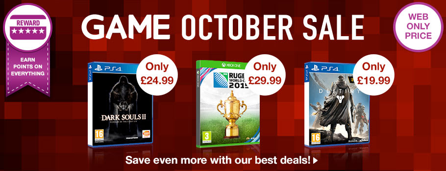 New GAME Season Deals - Buy Now at GAME.co.uk!