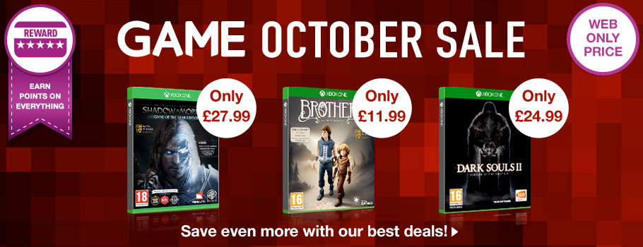 October Sale at GAME.co.uk!