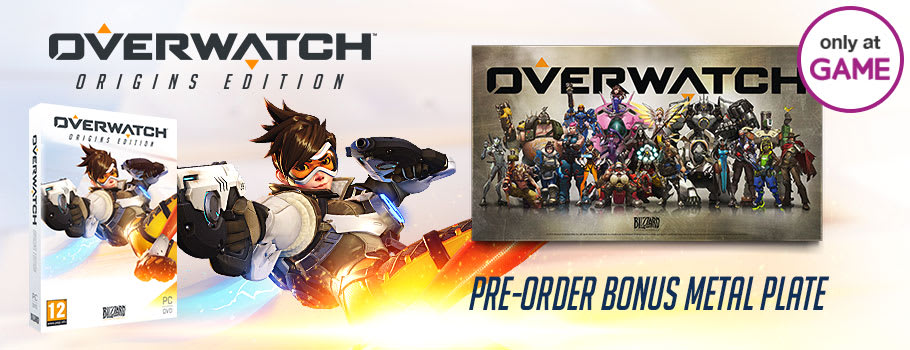 Overwatch Only at GAME for PC - Pre-order Now at GAME.co.uk!