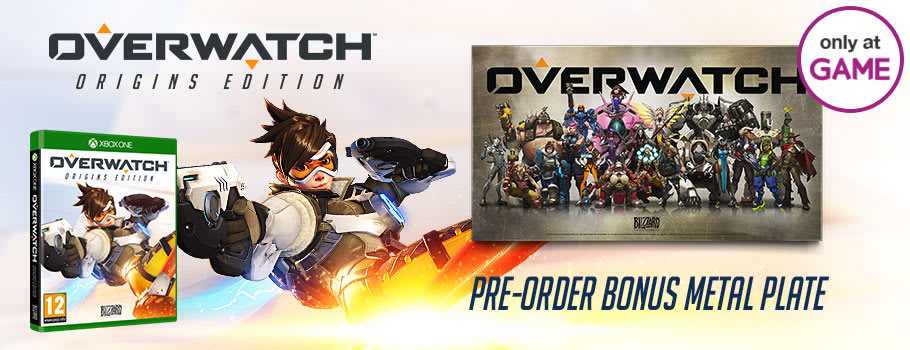 Overwatch Only at GAME for Xbox One - Pre-order Now at GAME.co.uk!