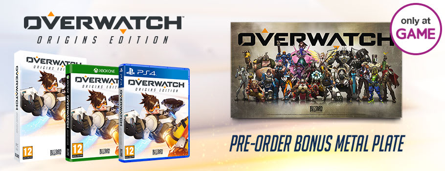 Overwatch Origins Edition for Xbox One, PS4 and PC – Preorder now at GAME.co.uk!