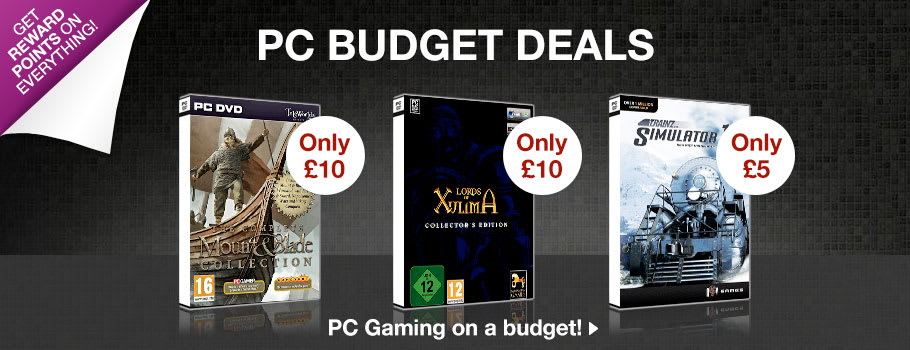 PC Budget Deals for PC - Buy Now at GAME.co.uk!