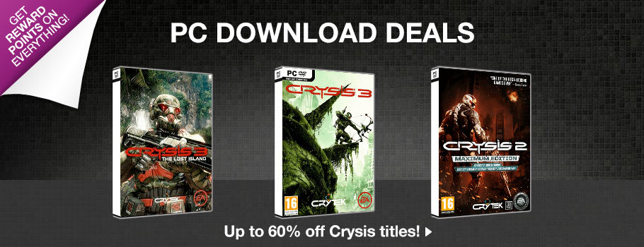 Download deals for PC Download - Preorder Now at GAME.co.uk!