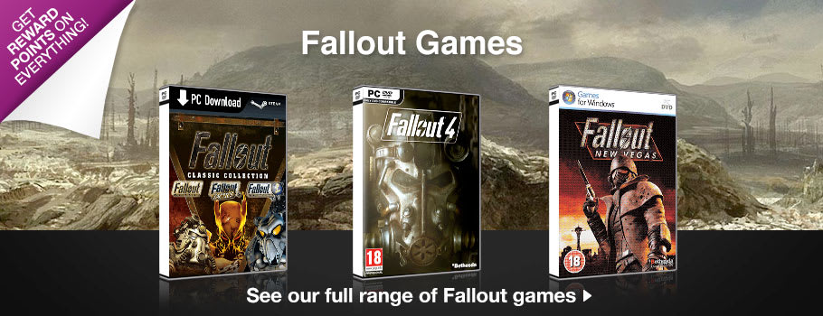 Fallout Games For PC Download - Download Now at GAME.co.uk!