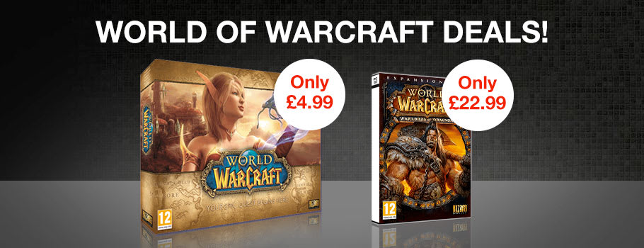 World of Warcraft Deals for PC - Preorder Now at GAME.co.uk!