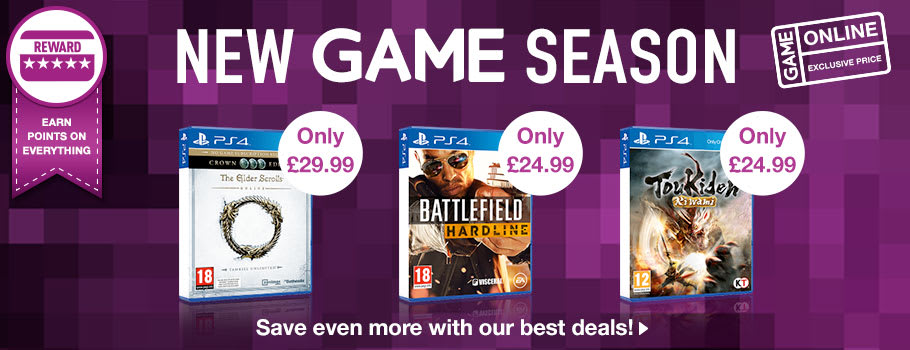 The New GAME Season at GAME, buy now at GAME.co.uk!