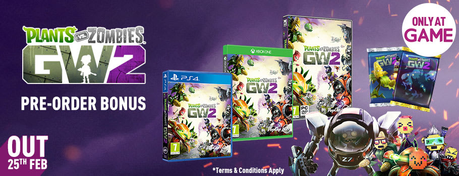 Plants Vs Zombies Garden Warfare 2 for PC - Pre-order Now at GAME.co.uk!