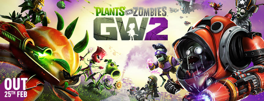 Plants Vs Zombies Garden Warfare 2 for PC Download - Pre-order Now at GAME.co.uk!