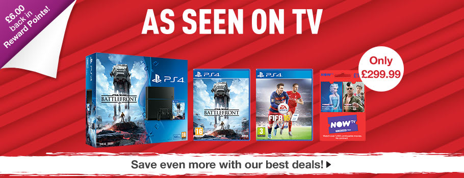 PlayStation 4 console bundles available Now at GAME.co.uk!