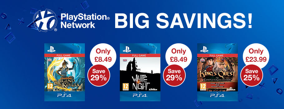 Digital Deals for PSN - Download now at GAME.co.uk!