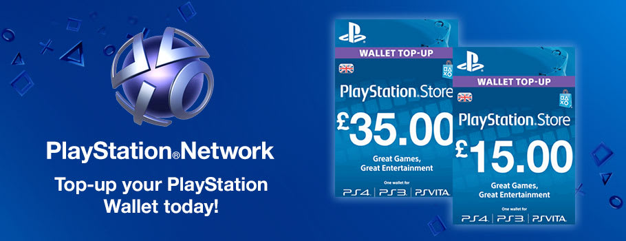 PSN Credit for PlayStation Network - Download Now at GAME.co.uk!