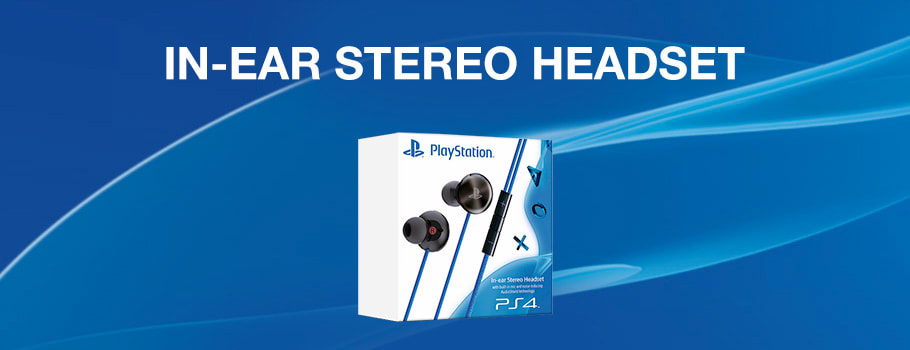In ear heaset for PlayStation 4 - Buy Now at GAME.co.uk!