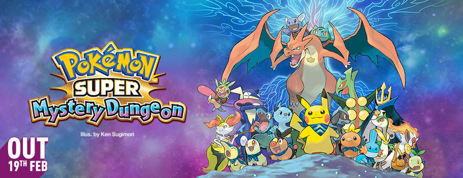 Pokemon Super Mystery Dungeon Pre-purchase from Nintendo eShop - Pre-purchase Now at GAME.co.uk!