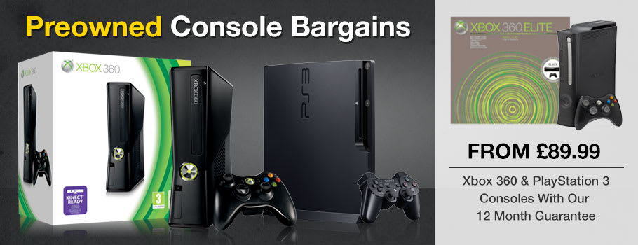 Preowned Consoles