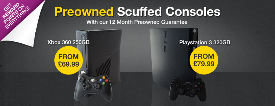 Preowned Scuffed Consoles - Buy Now at GAME.co.uk!