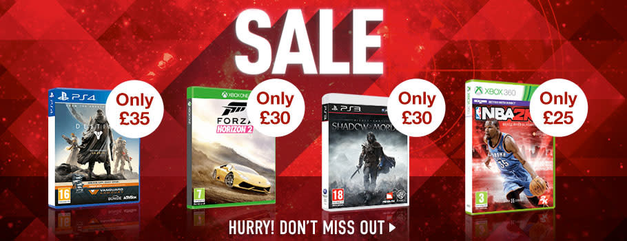 GAME SALE - Download Now at GAME.co.uk!
