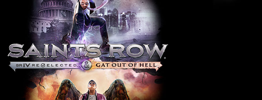 Saints Row IV Re-Elected & Gat Out of Hell for PlayStation 4 - Preorder Now at GAME.co.uk!