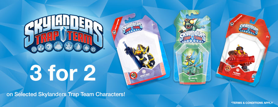 Skylanders 3 for 2 for GAME Junior - Buy Now at GAME.co.uk!