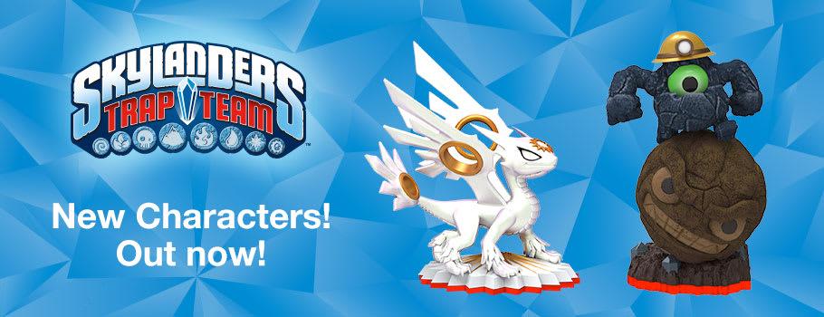 Skylanders New Characters - Buy Now at GAME.co.uk!