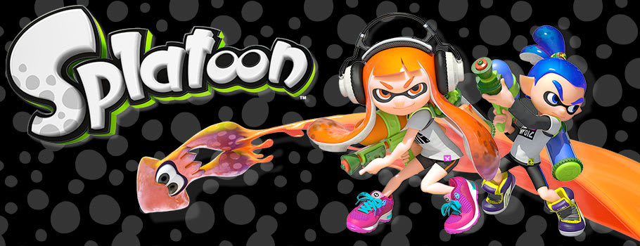 Splatoon for Nintendo Wii U from Nintendo eShop - Download Now at GAME.co.uk!