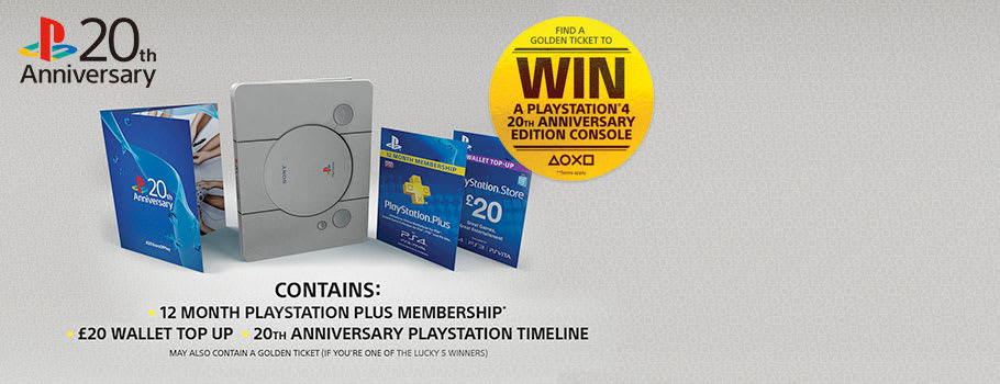 PlayStation Plus 20th Anniversary - Preorder Now at GAME.co.uk!