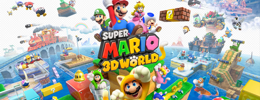 Super Mario 3D World for Nintendo eShop - Download Now at GAME.co.uk!