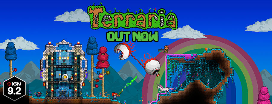 Terrarria for Xbox One - Preorder Now at GAME.co.uk!