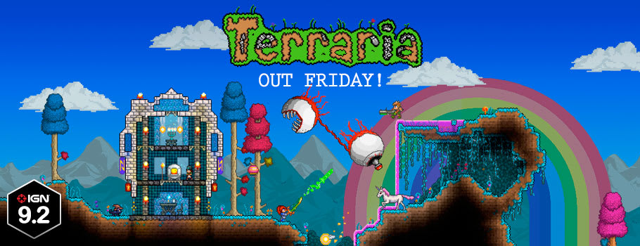 Terraria for PlayStation 4 - Preorder Now at GAME.co.uk!