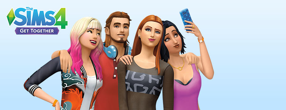 Sims 4 Get Together Expansion for PC - Preorder Now at GAME.co.uk!