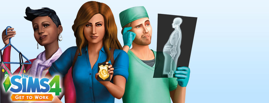 The Sims 4: Get to Work for PC - Preorder Now at GAME.co.uk!