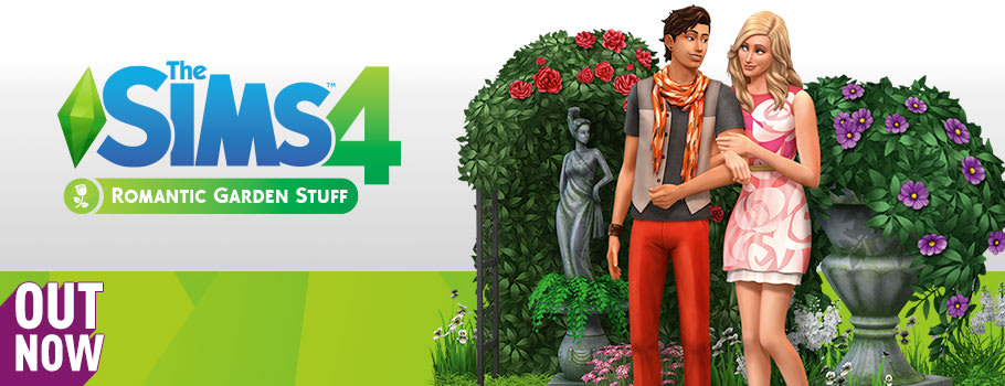 The Sims 4 Romantic Garden Stuff Pack for PC Download - Download Now at GAME.co.uk!