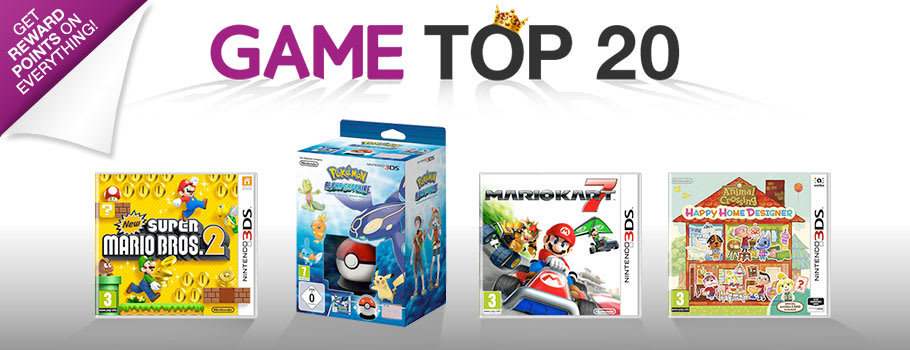 Top 20 for Nintendo 3DS - Buy Now at GAME.co.uk!