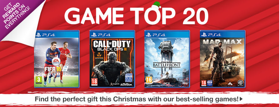 Top 20 Chart Games for PS4 - Buy now at GAME.co.uk!